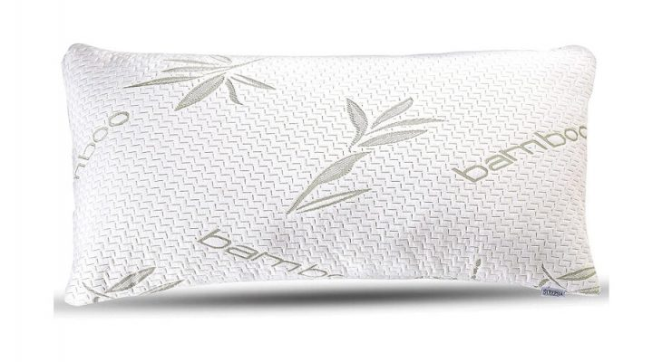 You should get a bamboo pillow. Here's why